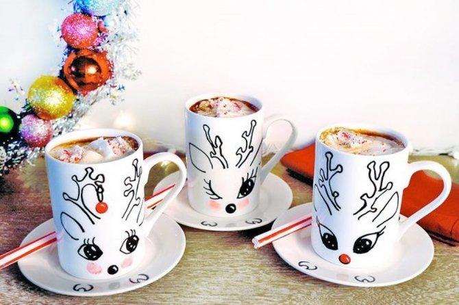 Швидкий подарунок на Миколая  як креативно прикрасити чашку cccf39d97f088