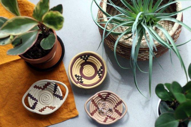 Оригінальний глиняний посуд  «плетений кошик» 8b1b2aa801d9a