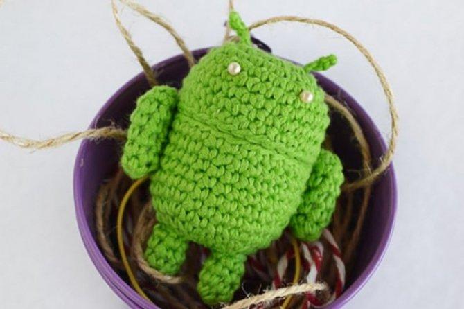Вязание крючком на андроид