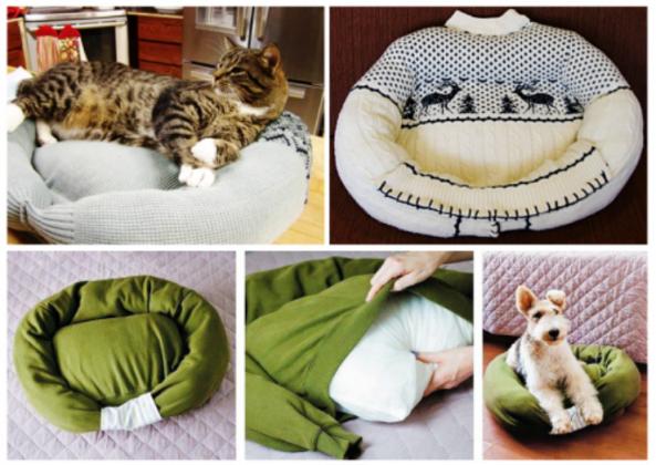 Как сделать лежак в домашних условиях