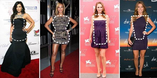 Какие платья подойдут девушкам с широкими плечами