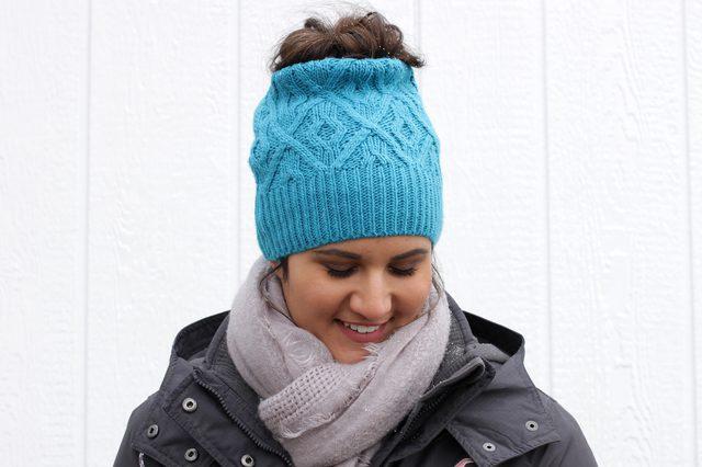 Зимова шапка. Місія  врятувати зачіску - Категорія майстер-класи (1137) d2ee093efec9d
