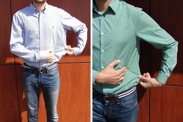 Как сделать рубашку поменьше