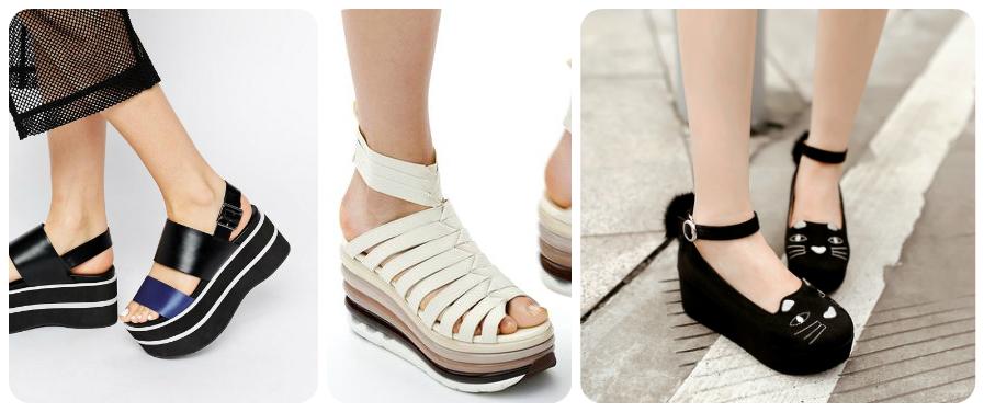Жіноче взуття на платформі — зрозуміло. А як щодо пласкої версії  Бренди  додали чудернацькі принти та прикраси. І знаєте що  Нам подобається. f84a73ca14f9e