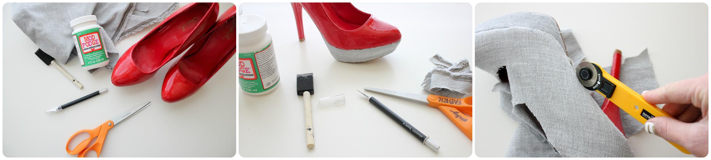 Взуття своїми руками  новий погляд на звичні речі - Категорія ... 50d5a59bd7d99