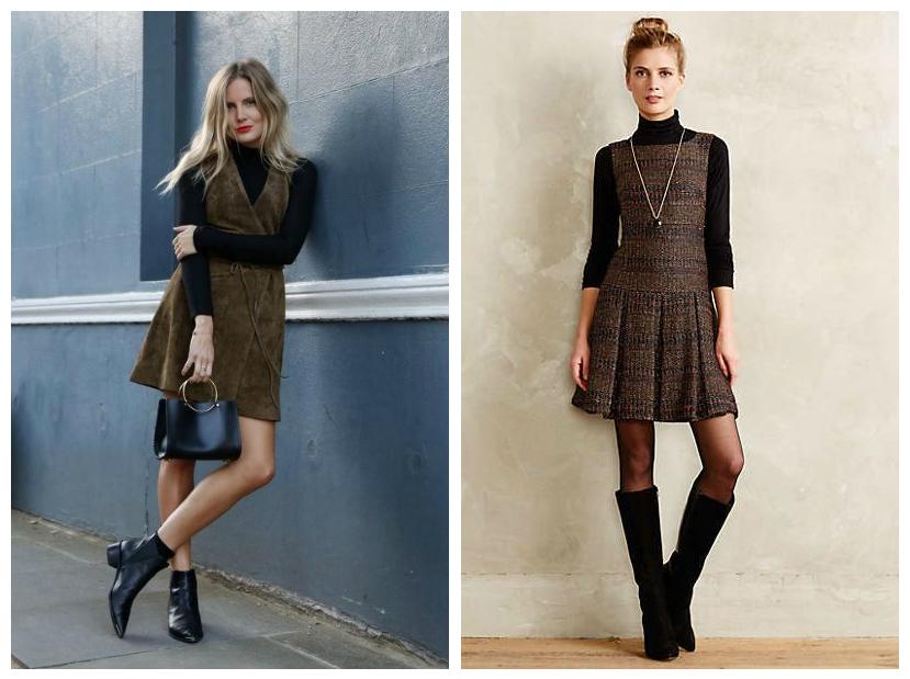 Як виглядати стильно  з чим носити плаття взимку - Категорія блог ... 28341df7cbfc0
